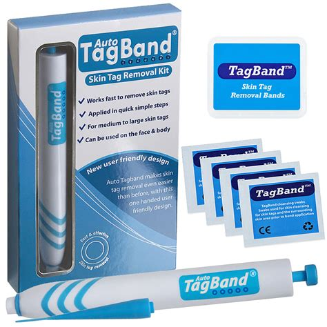 skin tag removal auto tagband skin tag removal device kit the fast effective skin tag remover ebay