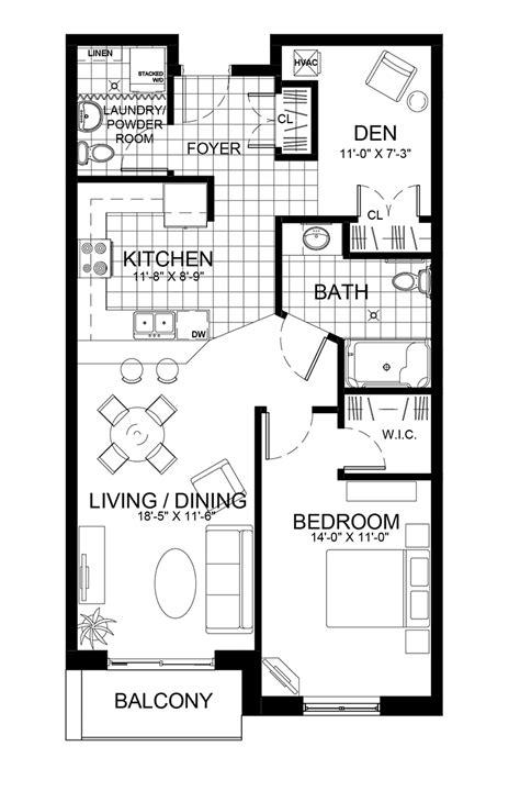 1 bedroom plus den the gardens 187 suites