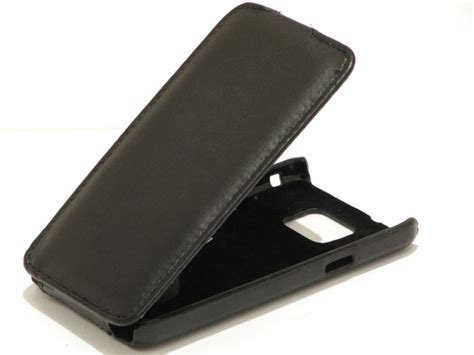 Flipcover Flipcase Samsung S2 9100 Huanmin slimline leather flip hoes samsung galaxy s2