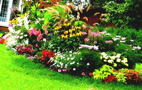 Home Flower Gardens Flower Bed Design Ideas Home Decorating Ideas And Tips Goodhomez
