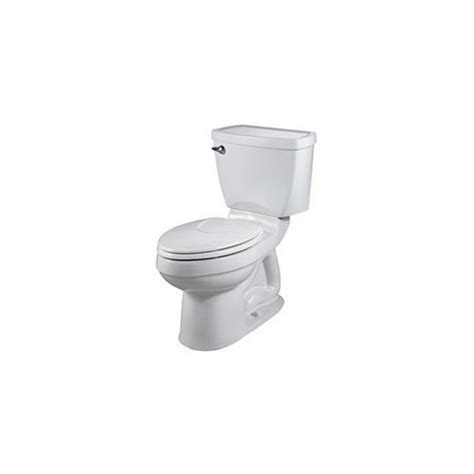 comfort height toilet lowes shop american standard elongated toilet at lowes com