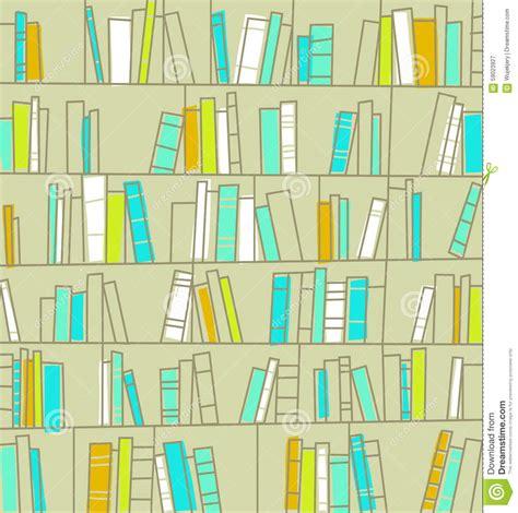 scaffali libri scaffali per libri con i libri biblioteca illustrazione