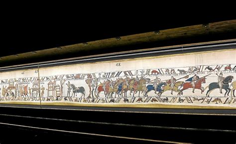 Bayeux Tapisserie by Tapisserie De Bayeux Direction L Angleterre Monde