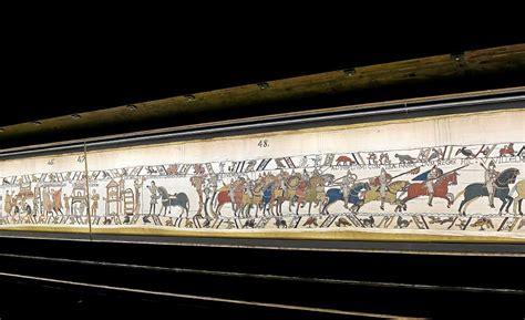 De La Tapisserie by Tapisserie De Bayeux Direction L Angleterre Monde