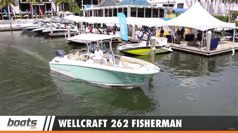 wellcraft boats youtube wellcraft 262 fisherman first look video youtube
