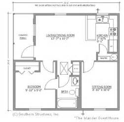 small guest house plans simple guest house home exterior floor plans pinterest