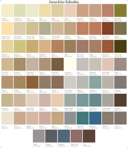 stucco color chart parex color chart painting the house