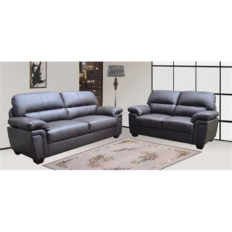 Leather Sofas Bristol Bristol 3 2 Bonded Leather Sofa Set 18996 Furniture In