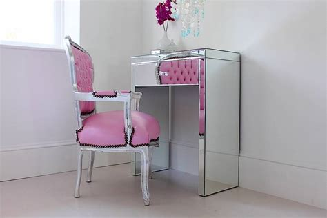 Vanity Set Bedroom Mini Mirrored Dressing Table By Out There Interiors