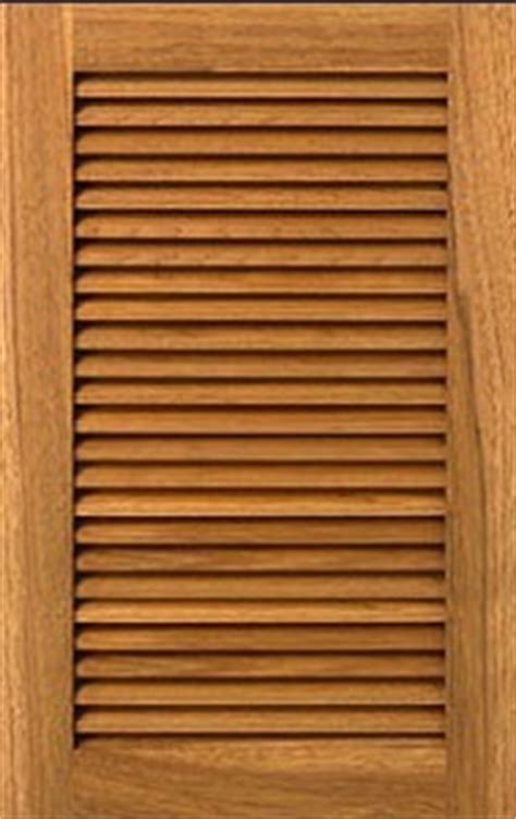 Custom Louvered Cabinet Doors For Kitchen Designers And Homeowners