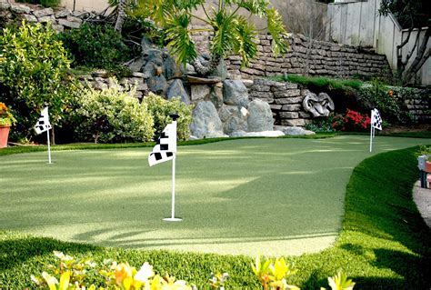 Backyard Putting Greens Cost Putting Greens Synthetic Grass Warehouse