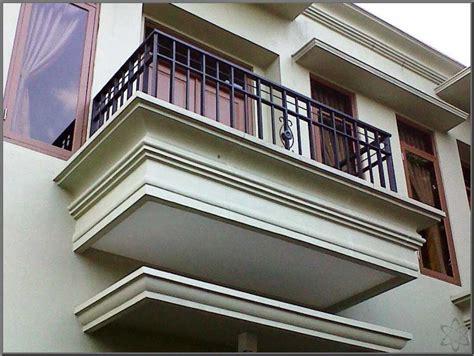 balkon rumah minimalis desain minimalis