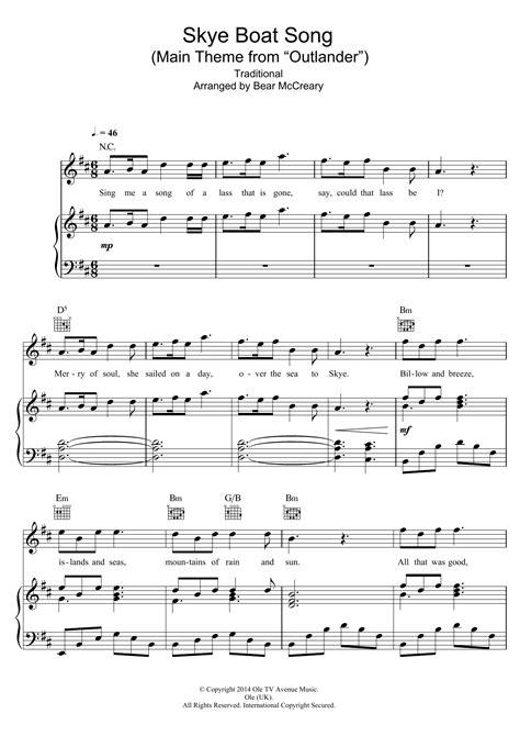 skye boat song raya yarbrough download sheet music sheet music at stanton s sheet music