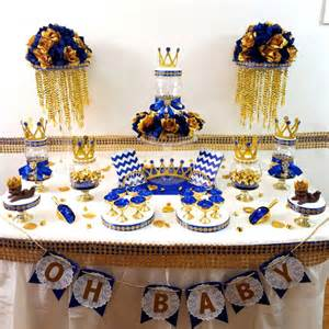 blue and gold baby shower decorations royal blue and gold baby shower by platinumdiapercakes