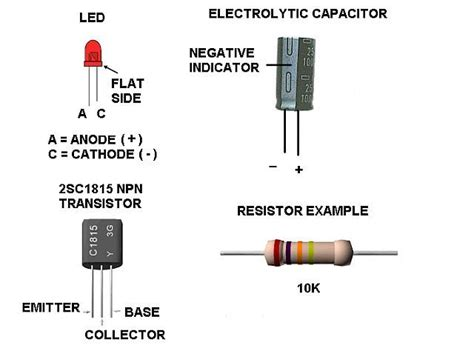 resistors used with transistors dunia elektronika