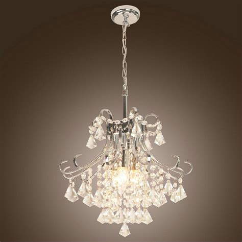 Ideas For Make A Mini Crystal Chandelier Inspiration Home Small Chandelier L