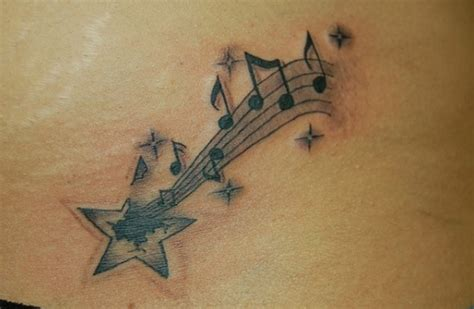 music notes with stars tattoo designs 30 designs pretty designs