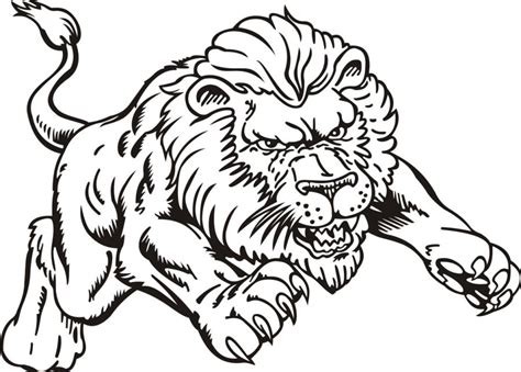 Print Out Share This Printable Lion Coloring Pages Online | print out share this printable lion coloring pages online