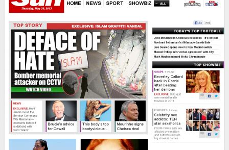 nrs figures say sun is the most read uk newspaper in print