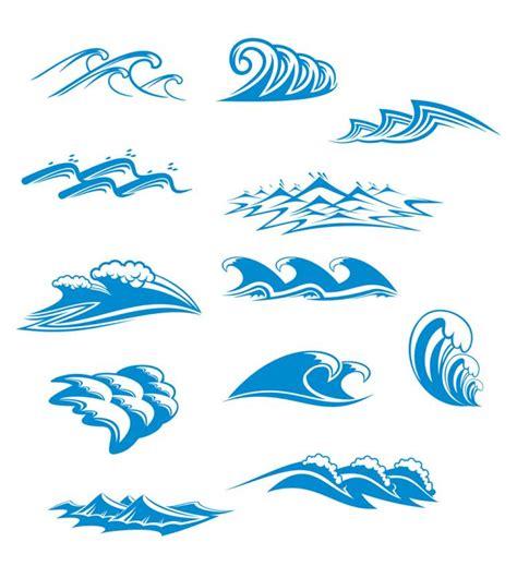 best photos of wave symbol vector graphics blue waves graphics vector free vector 4vector
