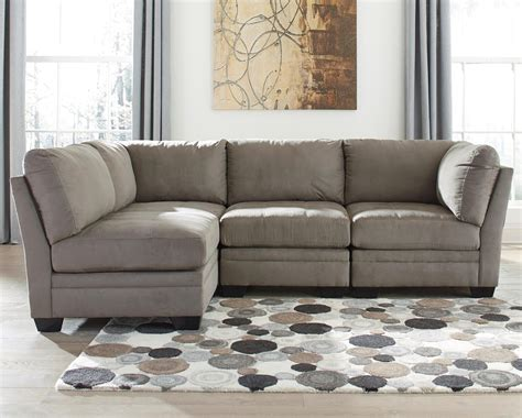 furniture modular sectional with cool style and color signature design by ashley iago 4 piece modular sectional