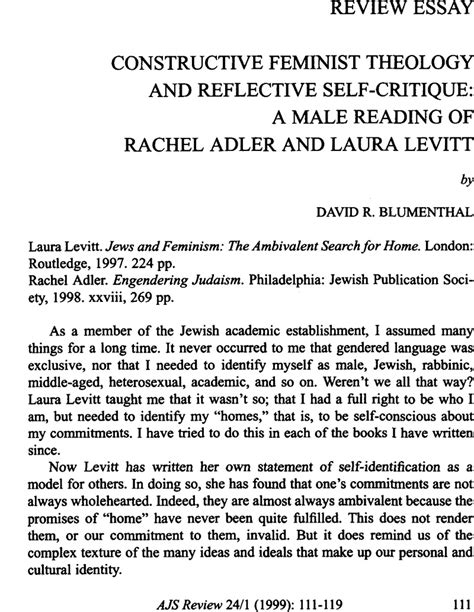 Sle Letter Of Evaluation Dental School constructive feminist theology and reflective self critique a reading of adler and