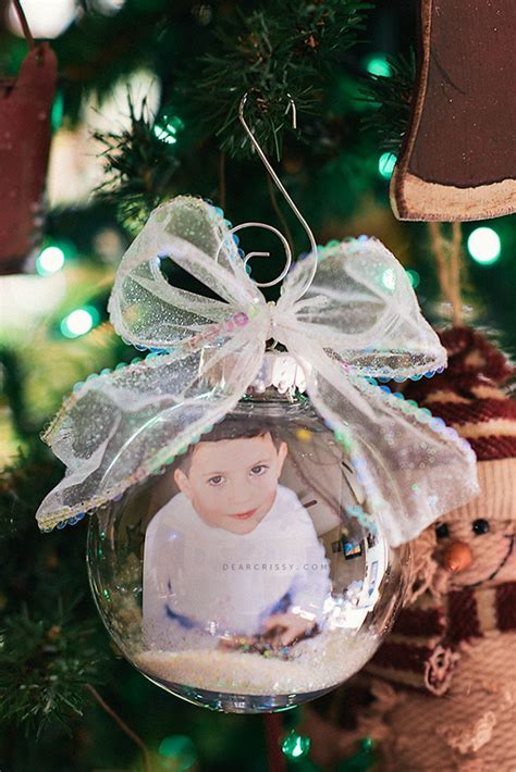 Handmade Photo Ornaments - 25 creative diy ornaments pretty my