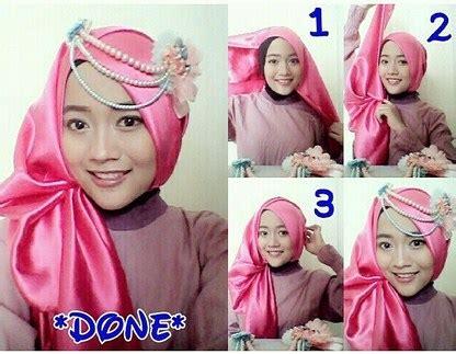 tutorial pashmina kaku 40 tutorial hijab pashmina satin simple kreasi terbaru