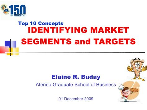 Ateneo Mba Requirements by Chapter 8 Market Segments And Targets