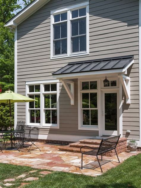 door awning ideas back door awning home design ideas pictures remodel and decor