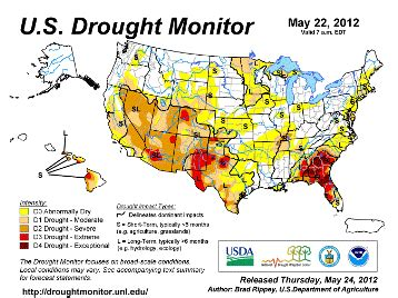 kentucky drought map drought conditions raising concerns in western central