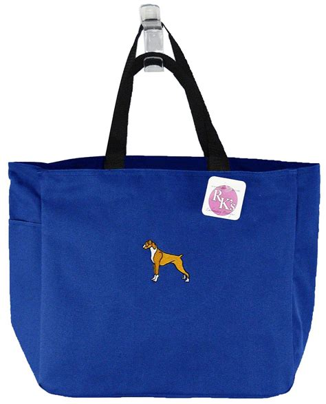 boxer tote essential bag puppy dog   show breed