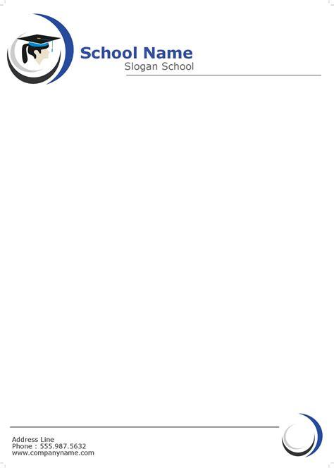 Letterhead For College 70lb Premium Linen Letterheads
