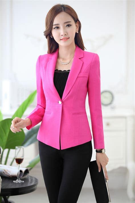 A165 Pink Boutique Original Half Dress pink suit jacket womens suit la