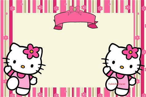 imagenes de kitty de cumpleaños marcos de hello kitty todo hello kitty