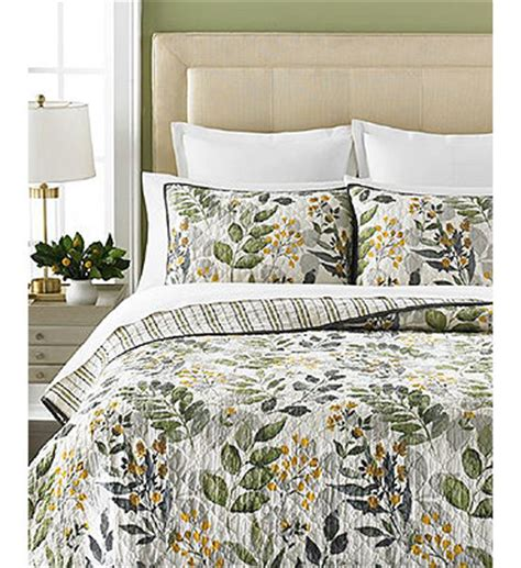 Martha Stewart Bedding Quilts by Martha Stewart Collection Clarewood Quilts Quilts Bedspreads Bed Bath Macy S