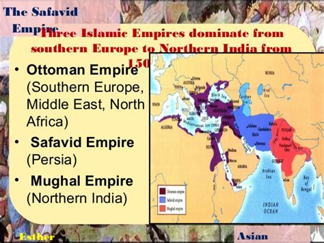 describe the ottoman empire the safavid empire