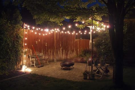 Outdoor Lights String Globe Outdoor Globe String Lights Battery Operated All Home Design Ideas