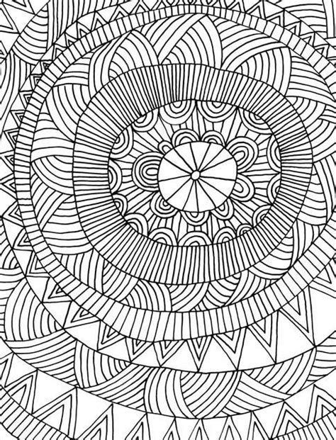 difficult pattern in c difficult geometric design coloring pages disney