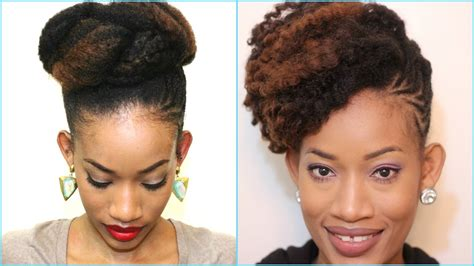 4c Twistout Updo | how to style an old twist out updo natural hair 4c