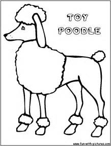 poodle coloring pages free poodle coloring pages
