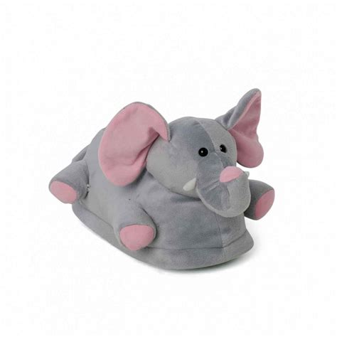 elephant slippers for adults novelty slippers elephant with pink ears for adults and