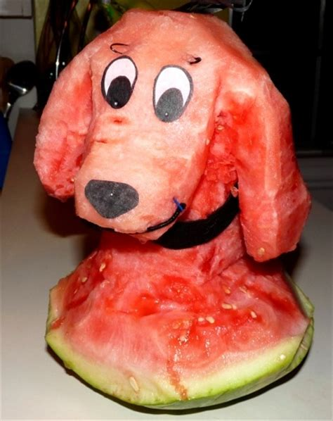 dogs and watermelon watermelon clifford the big