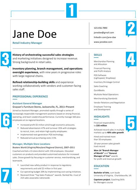 resume template what your resume should look like in 2017 money