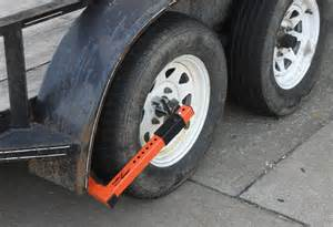 Trailer Tire Locked Up Fulton Trailer Keeper Wheel Lock For Wheels Up To 15