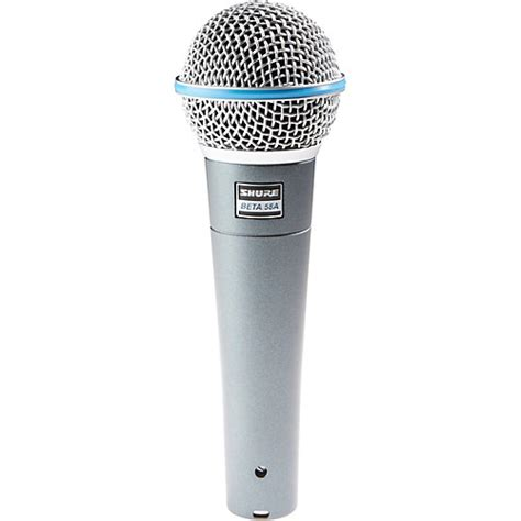 shure beta 58a mic musician s friend