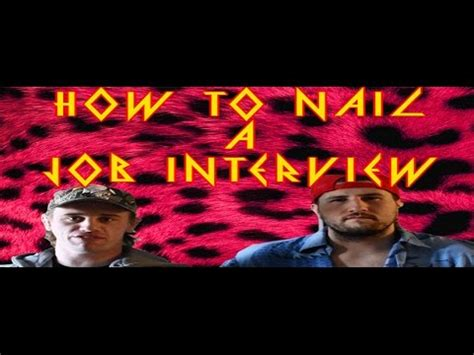 danger cats how to ace a job interview youtube