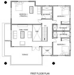The Floor Plan by Ghana House Plans Adzo House Plan