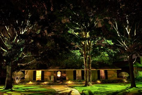 Landscape Lighting In Trees Designing With Leds Landscape Lighting Supply Company