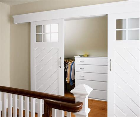 Barn Style Sliding Closet Doors by One Room Reader Remodel Winners 2013